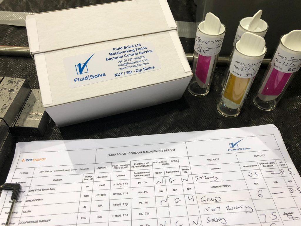Bacteria Testing & Dip Slide Testing